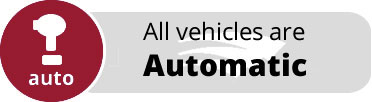 All vehicles are automatic