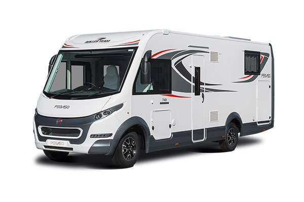 New 2019 Roller Team Pegaso 740