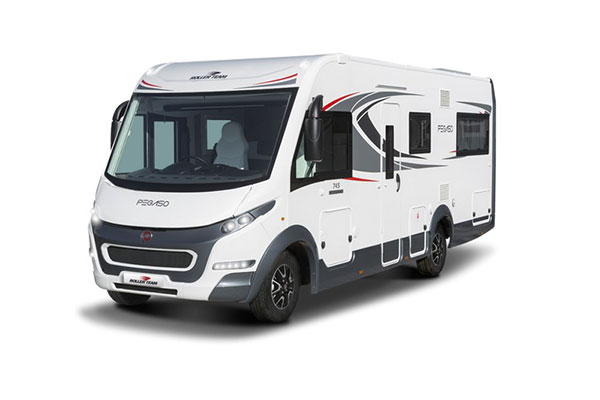 New 2019 Roller Team Pegaso 745