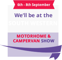 We'll be at the South Western motorshow