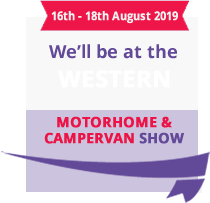 We'll be at the Western motorshow